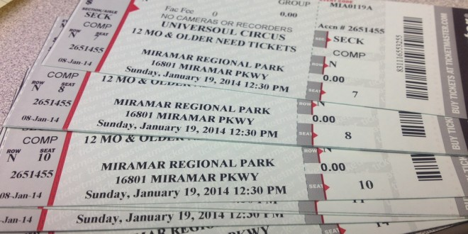 FREE TICKETS TO UNIVERSOUL CIRCUS
