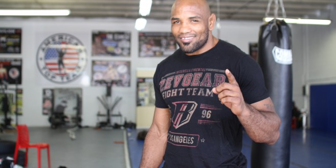 UFC fighter Yoel Romero talks wanting Michael Bisping or Anderson Silva in the next three months