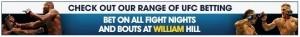 William Hill MMA Betting