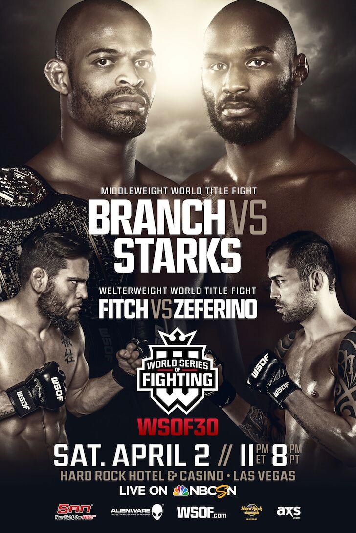 WSOF30_Branch_Starks_Poster1