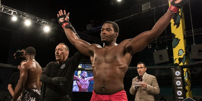 Titan FC's Denzel Freeman is hungry for more
