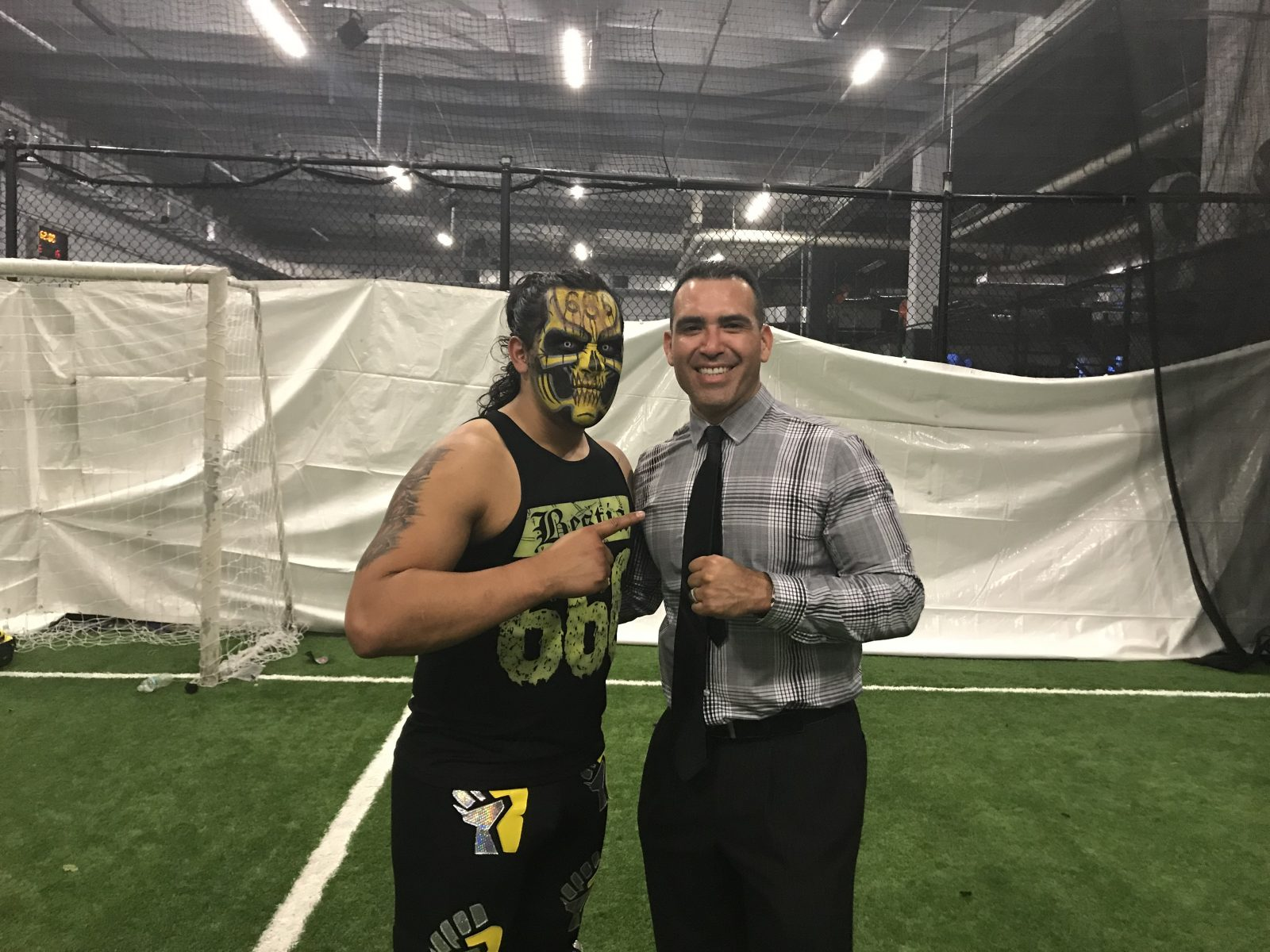 Bestia 666 talks Rey Mysterio becoming co-owner of Aro Lucha