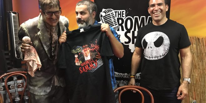 The Roman Show goes live from Enigma Haunt